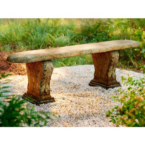 Light Walnut Penn Plantation Bench