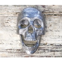 Aluminum Skull Door Knocker