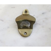 Bottle Opener- Brass over iron