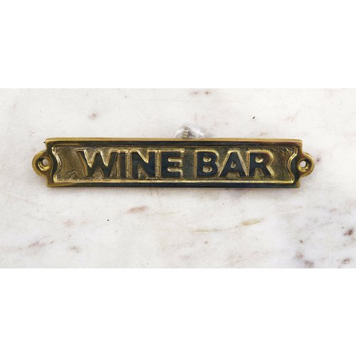 Wine Bar-Sign