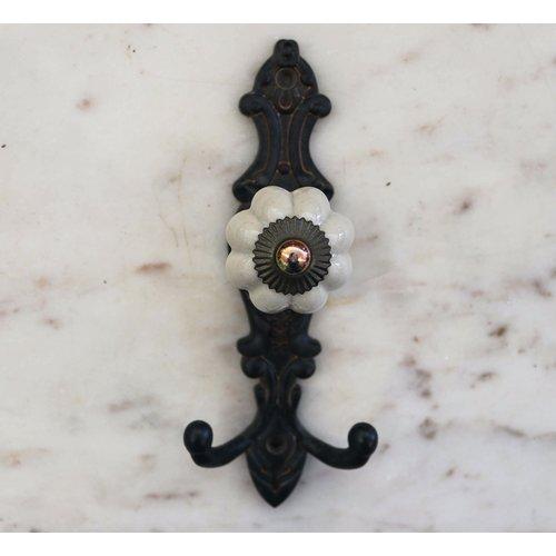 Porcelain Knob with Hook