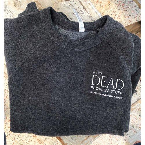 Dead People's Stuff Sweatshirt Dark Grey Heather