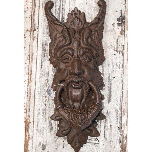 Large Door Knocker - Rust