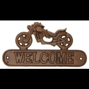 Motorcycle Welcome Sign & Bottle Opener