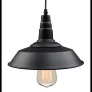 Black Industrial Pendant Light