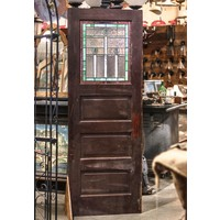 Stained Glass Arts & Craft Style Door