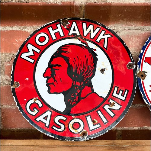 Sign - Mohawk Gasoline