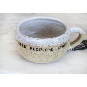 Cozy White Hand Thrown Mug By Sage