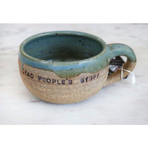 Soft Green Hand Thrown Mug By Sage