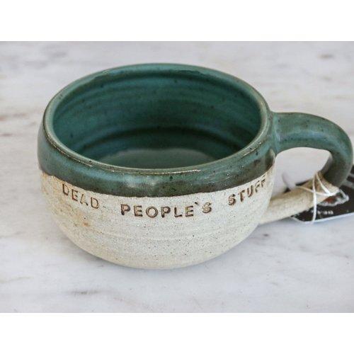 Cali Green Hand Thrown Mug By Sage