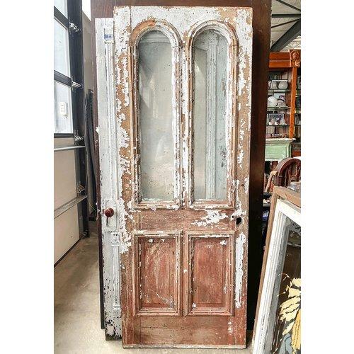 White Tombstone Door