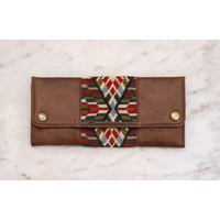 Holiday Vibes Marshé Leather Wallet
