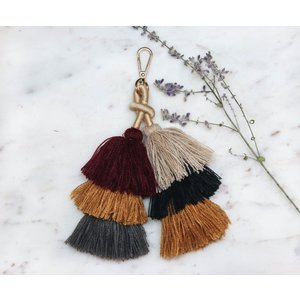 Marshe Layered Tassel No.2 -Bag Charm