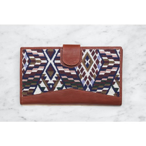 Marshe The Perfect Geometric Clutch- Marshé Leather