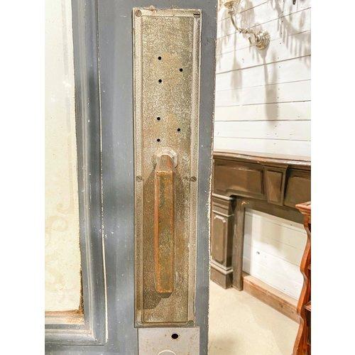 2 Panel Half Light Door with Etched Glass & Hardware