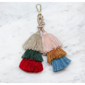 Marshe Layered Tassel No. 1 - Bag Charm