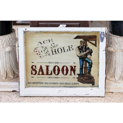 Sign from St. Louis - Ace in the Hole Saloon