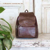 Marshé Leather Backpack