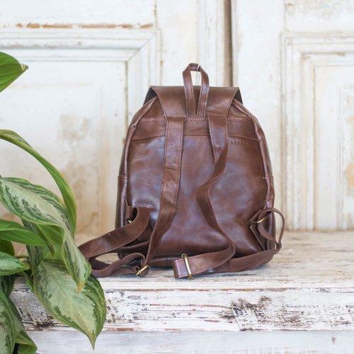 Marshe Marshé Leather Backpack