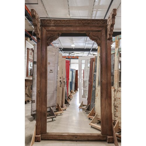 Indian Ornate Wooden Carved Frame