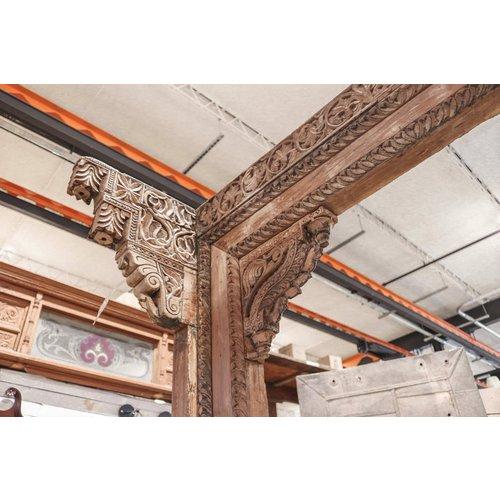 Indian Ornate Wooden Carved Frame