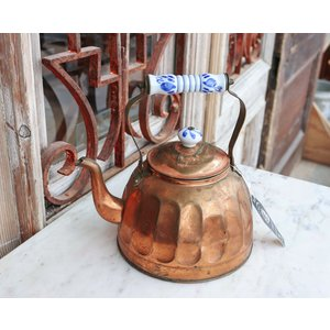 Copper Tea Pot - Large