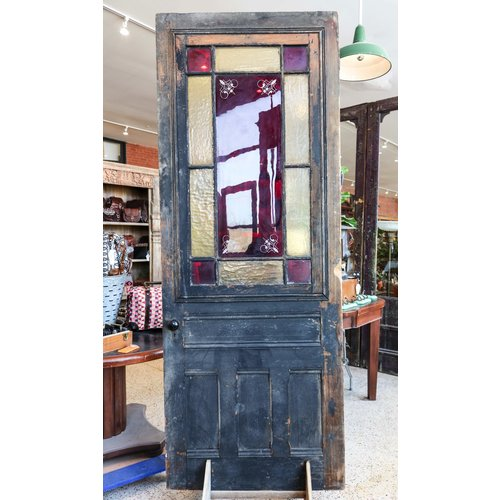 1800's Stained Glass Door