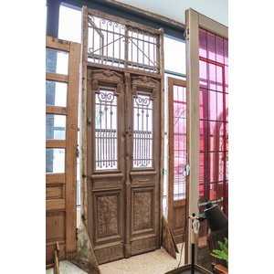 Egyptian Doors with Transom