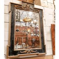 Decorative Black/Gold Mirror