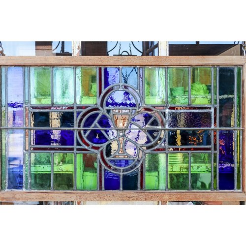 Stained Glass Window - The Holy Grail