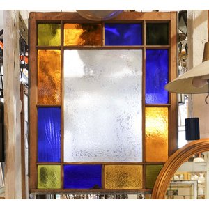 Stained Glass Window - 13 Light Multicolor