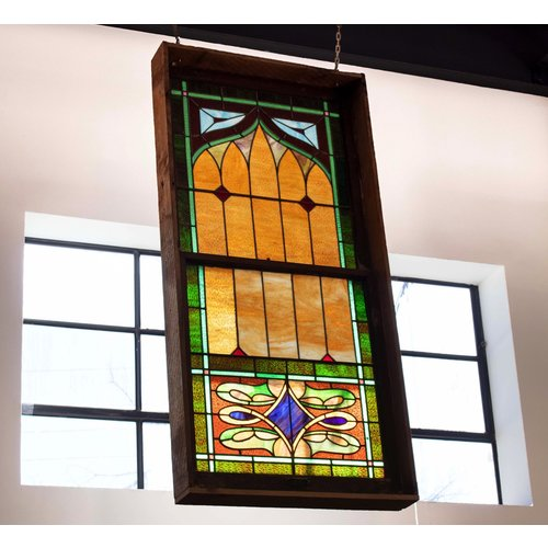 Stained Glass - Church in Earlsborough, OK - 1930's