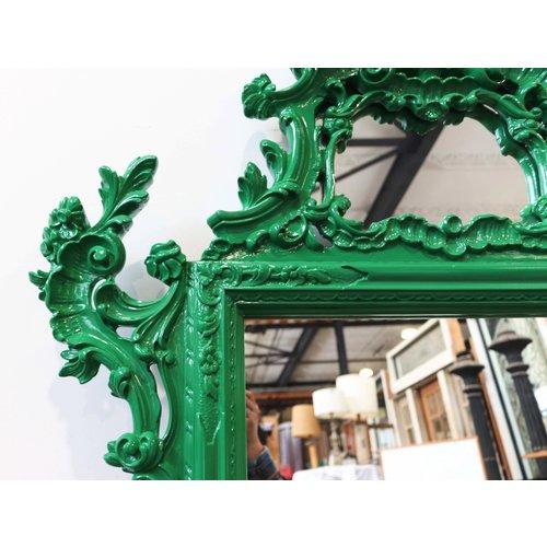 Frida Green Accent Mirror
