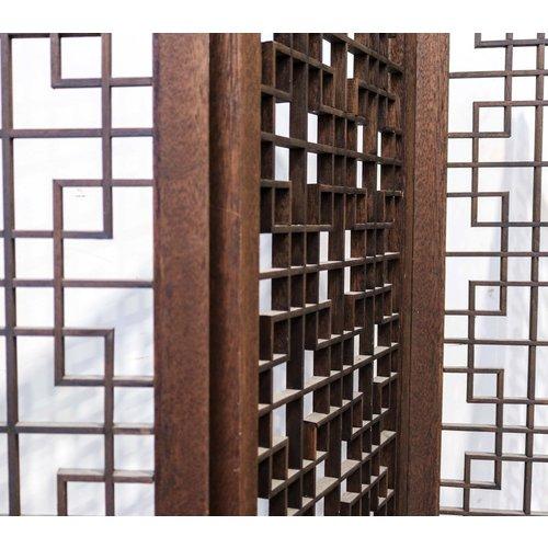 6 Panel Ornate Screen