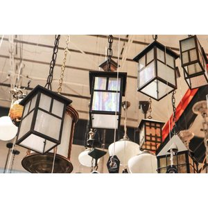 Stained Glass Hanging Light