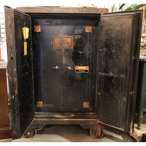 Late 1800's Dial Safe with Combination