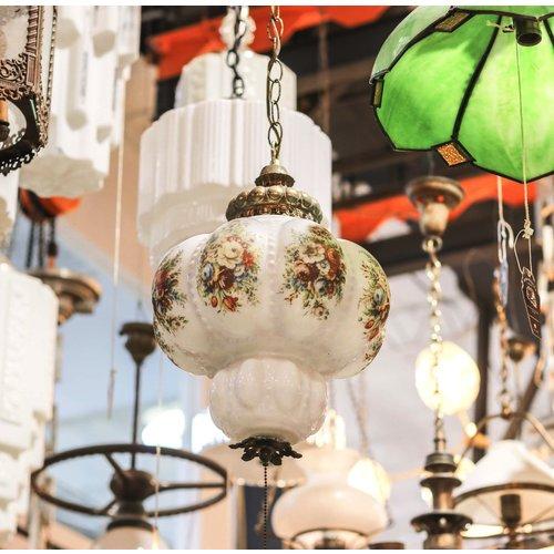 Brass Victorian Hanging Light