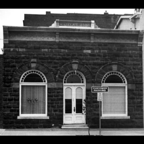 1894 Stillwater Citizen's Bank Building Double Doors