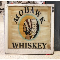 Mohawk Whiskey Sign from St. Louis