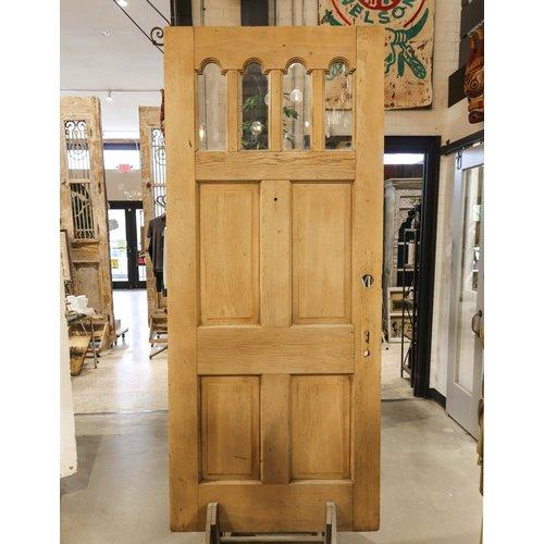 4 Light 4 Panel Ornate Door