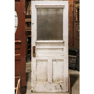 Textured Intricate Glass Door