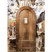 Arched Door With Speakeasy Window