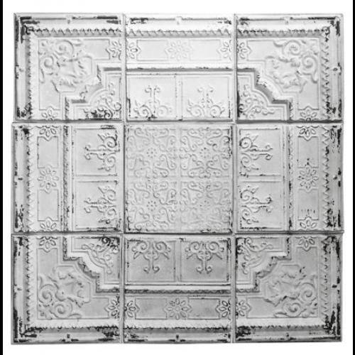 Ceiling Tin Large Art Piece