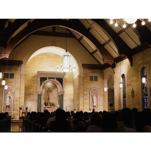 Saint Francis Church Chandelier