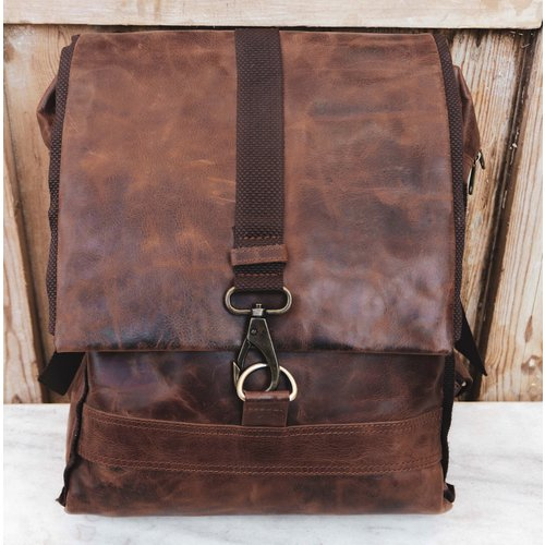 The Martin Leather Backpack