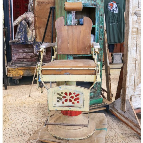 Barber Chair from Northern India