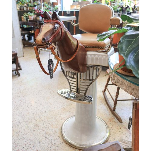 Child's Barber Chair with Pony