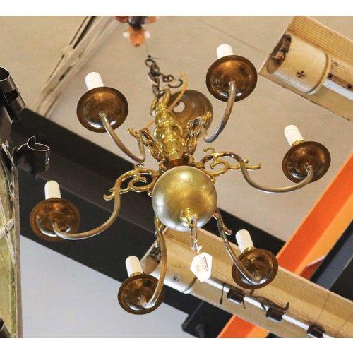 Brass Candelabra Chandelier