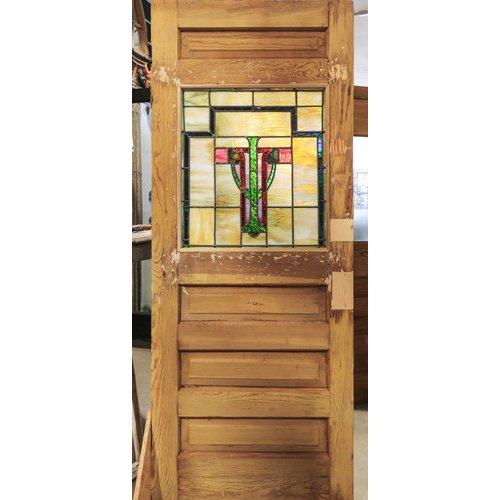 Early American 4 Panel Door