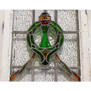 English Stained Glass- Wreath